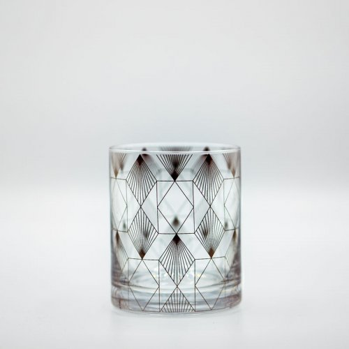 Metropolis Deco Glass