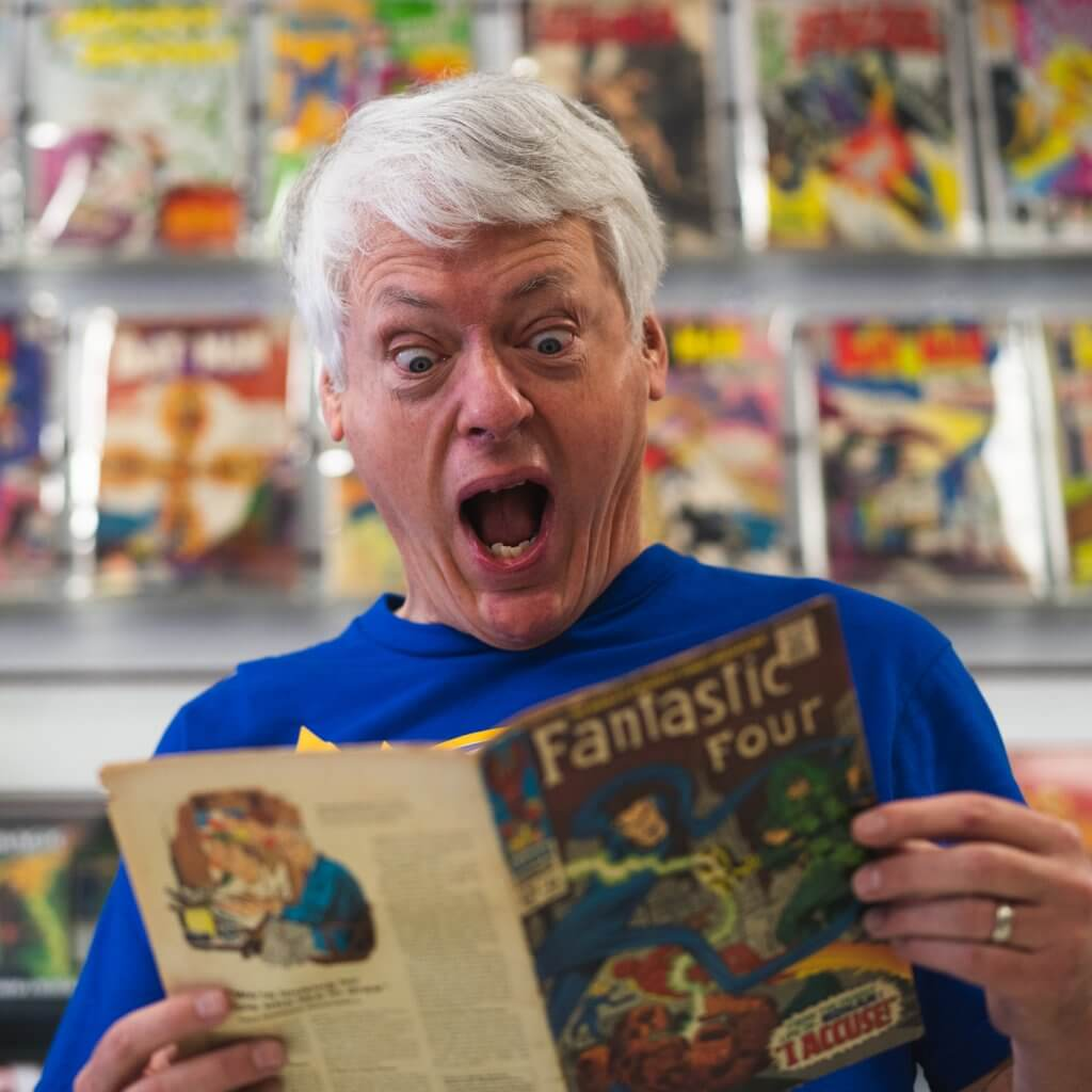 Scotch Parlor Story #26: Captain Joe of Flying Colors Comics