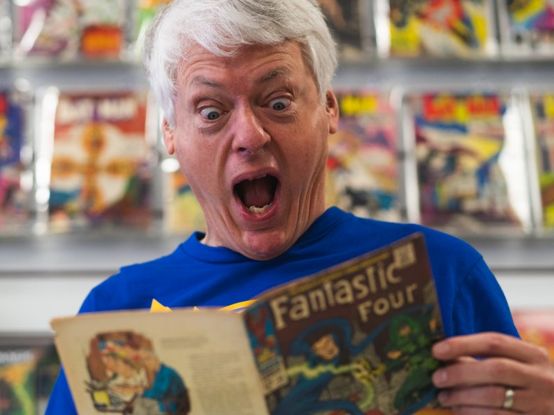 Scotch Parlor Story #26: Captain Joe of Flying Colors Comics